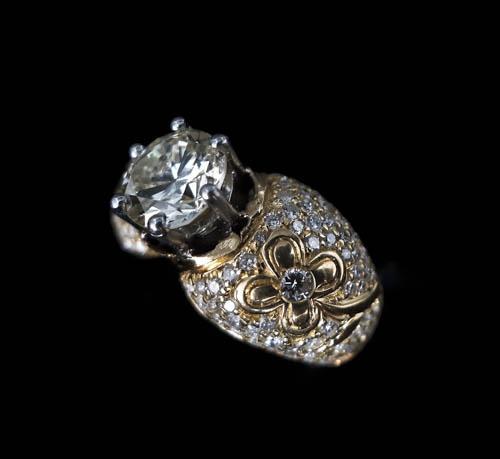 27 Bague diamant taille brillant