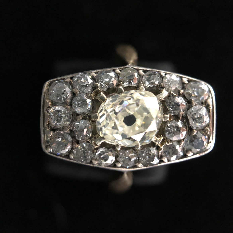 39 Bague diamant taille ancienne