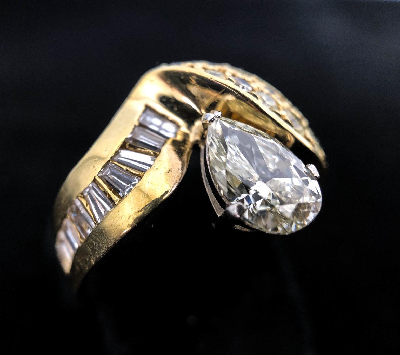 42 Bague diamant taille brillant