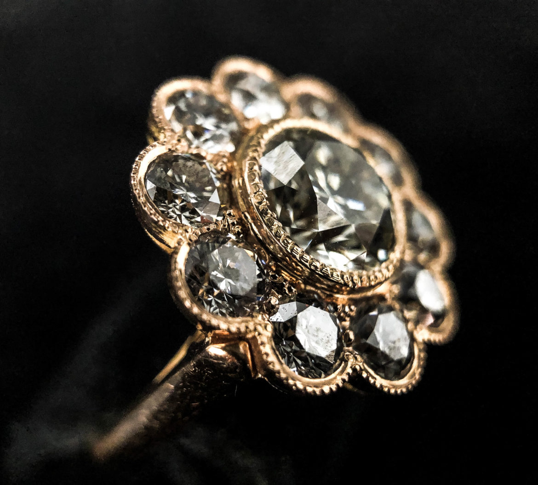 45 Bague diamant taille brillant
