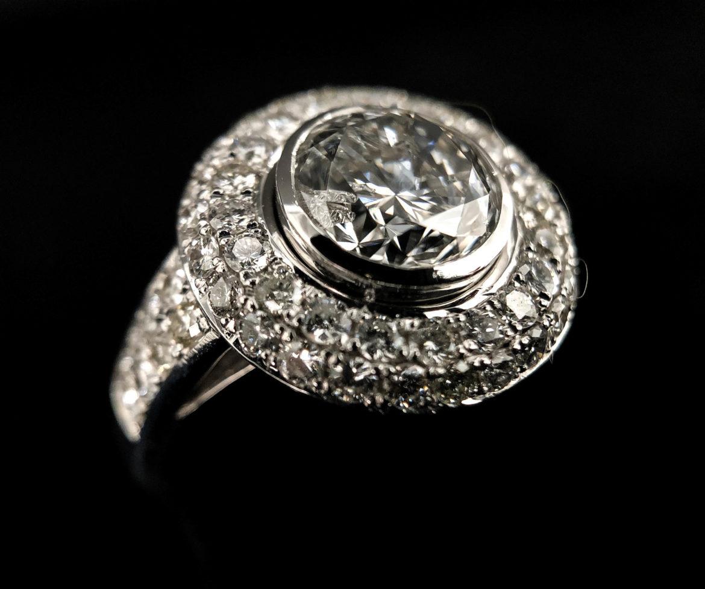 47 Bague diamant taille brillant