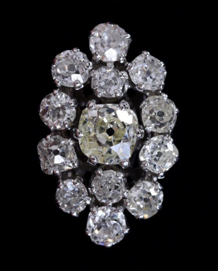 35 diamant taille ancienne