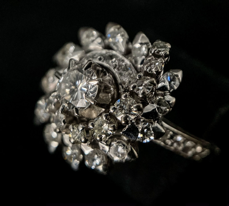 58 Bague diamant taille brillant