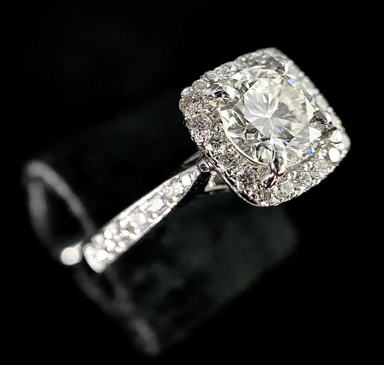 73 Bague Diamant